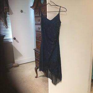 Taboo Navy & Black Dress